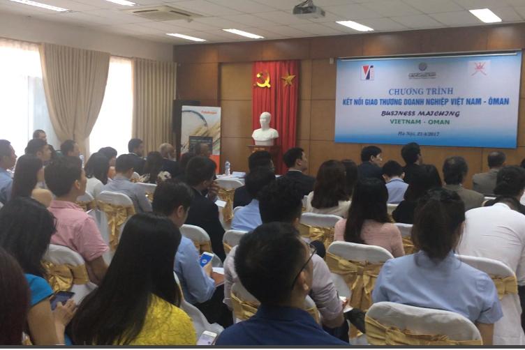Kết nối giao thương Việt Nam - Ô Man