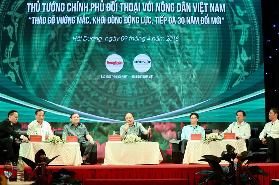 Thủ tướng Đối thoại với nông dân: Có năng lực cạnh tranh, sản phẩm sẽ không sợ bị phụ thuộc thị trường