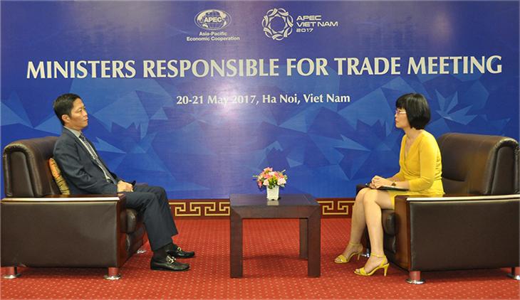 Bộ trưởng Trần Tuấn Anh trả lời phỏng vấn trước Hội nghị MRT 23