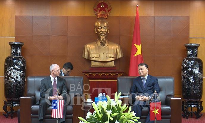 Tăng cường trao đổi kinh tế, thương mại giữa Việt Nam và Hoa Kỳ