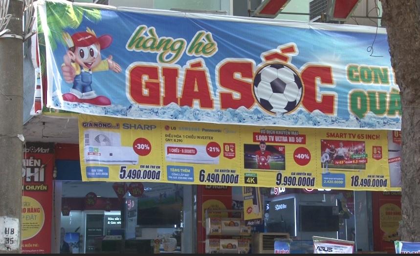 Thị trường tivi mùa World Cup: Khuyến mại mạnh, sức mua nóng