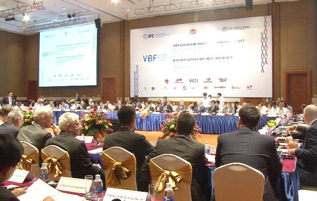 Diễn đàn doanh nghiệp Việt Nam giữa kỳ 2017