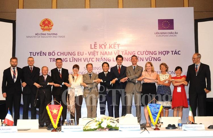 Việt Nam - EU thúc đẩy hợp tác trong phát triển năng lượng xanh
