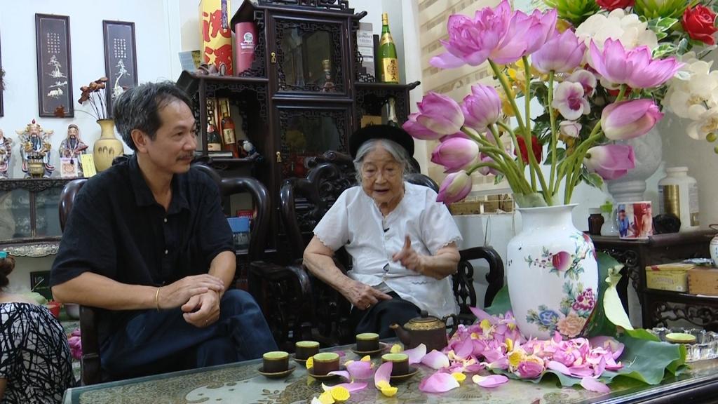 Trà sen Hồ Tây - nét văn hóa người Hà Nội