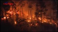 Thừa Thiên Huế: Bùng phát 4 điểm cháy rừng, uy hiếp hệ thống lưới điện 500kV