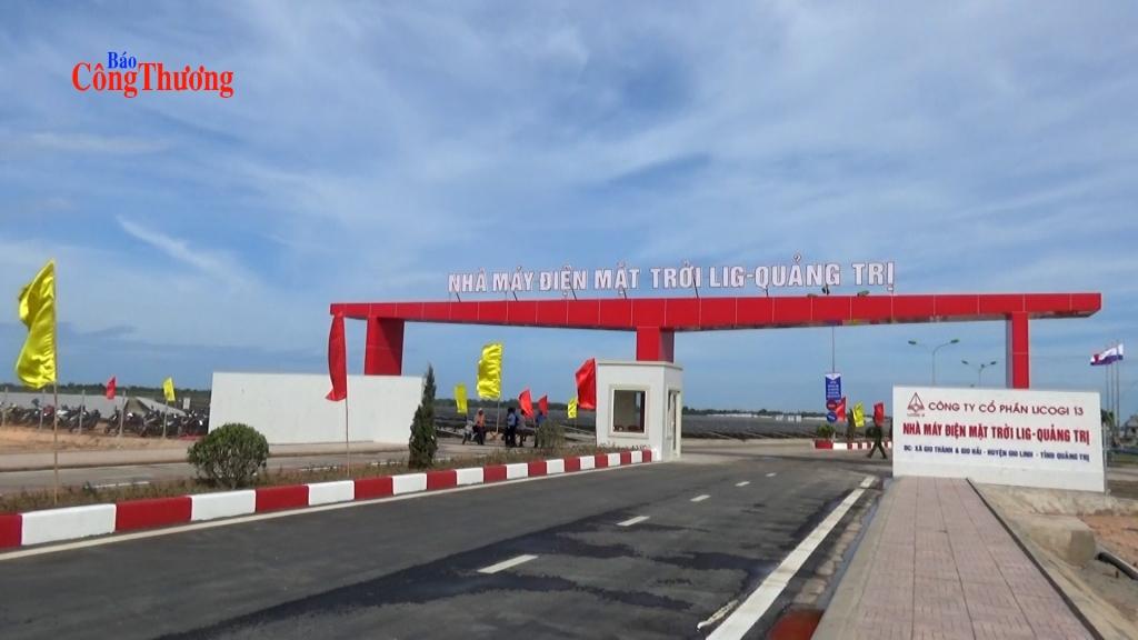 Khánh thành dự án Điện mặt trời lớn nhất Quảng Trị, vốn đầu tư gần 1,2 ngàn tỷ đồng