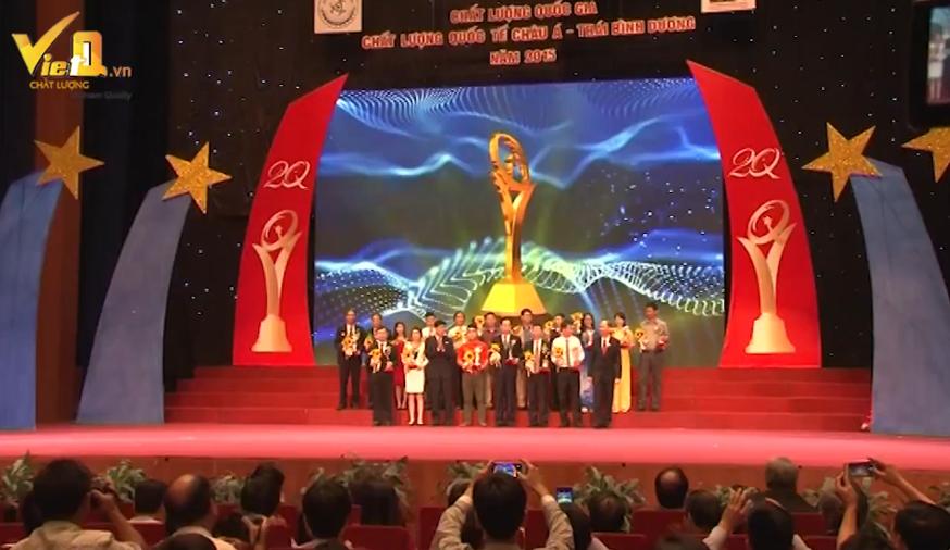 Giải thưởng Chất lượng Quốc gia nâng tầm giá trị qua 20 năm