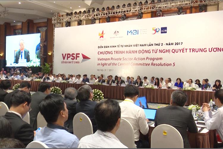 Tăng cường đối thoại thúc đẩy kinh tế tư nhân