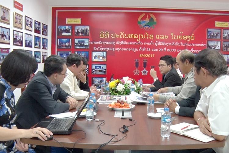 Báo Công Thương và Báo Kinh tế Thương mại Lào mở rộng hợp tác truyền thông