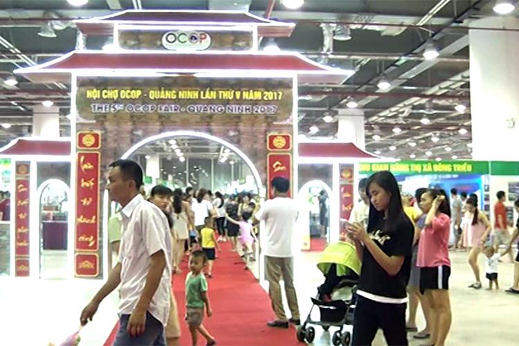 Ấn tượng hội chợ OCOP Quảng Ninh lần thứ V