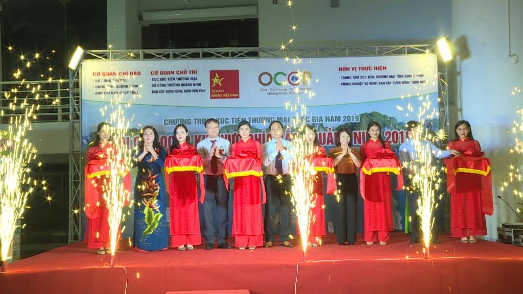 Hơn 400 gian hàng tham dự Hội chợ OCOP Khu vực phía Bắc - Quảng Ninh 2019