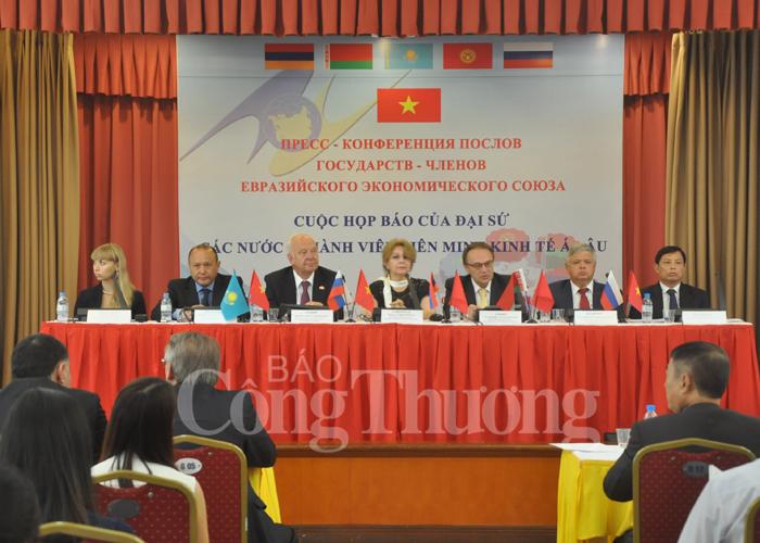 Kỳ vọng đạt 10 tỷ USD sau 4 năm thực thi FTA Việt Nam-EAEU