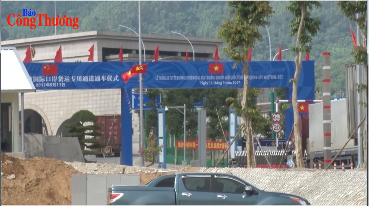 Lạng Sơn: Tạo môi trường thuận lợi cho hàng hóa xuất, nhập khẩu