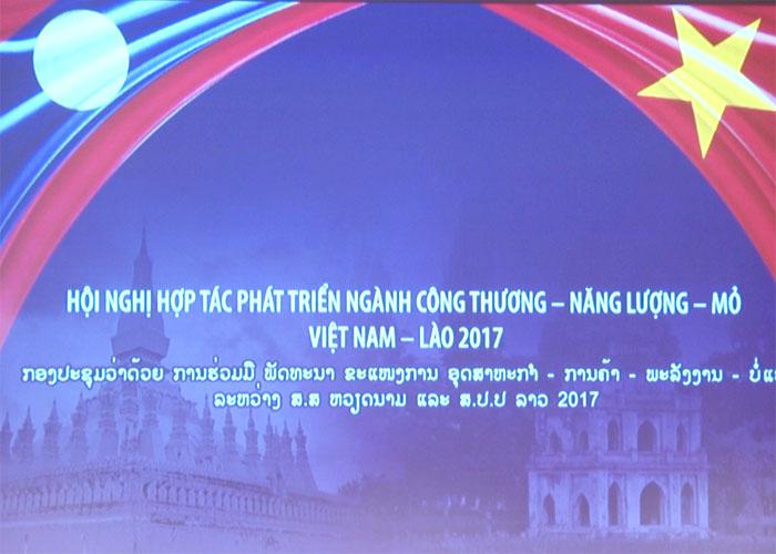 Hợp tác toàn diện ngành Công Thương, Năng lượng và Mỏ Việt Nam – Lào