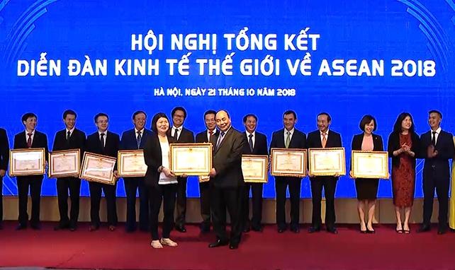 WEF ASEAN 2018 là hội nghị thành công nhất trong 27 năm qua