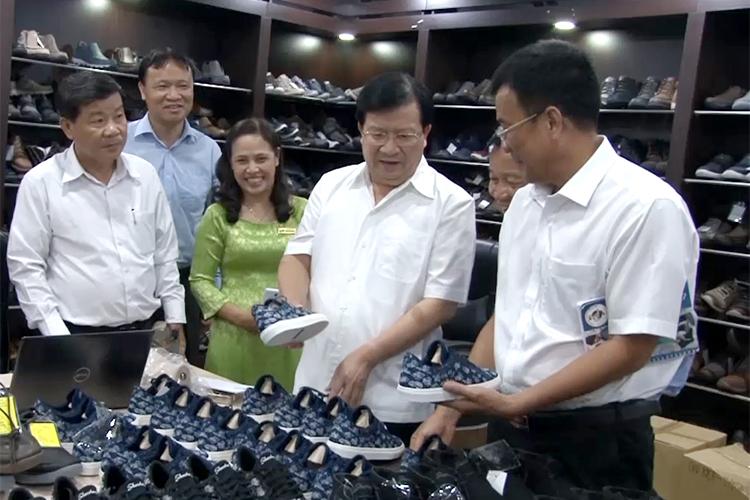 Ngành da giày vẫn là ngành sản xuất công nghiệp chủ lực trong tương lai
