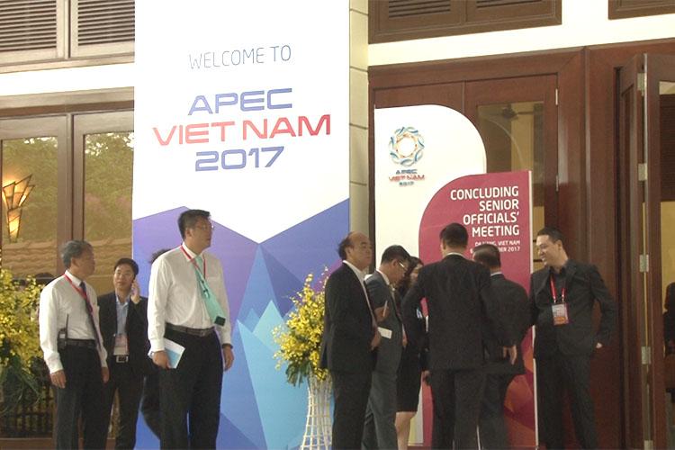 Tuần lễ cấp cao APEC 2017 khởi động trong cơn mưa lớn