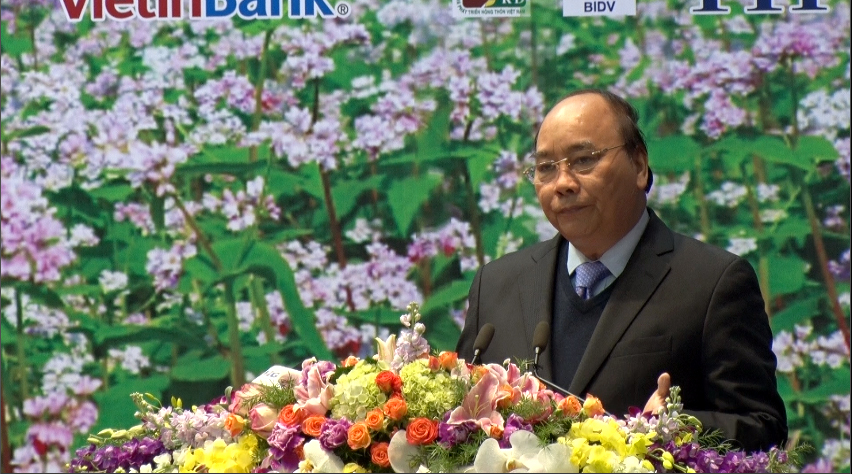 Thủ tướng Nguyễn Xuân Phúc dự hội nghị xúc tiến đầu tư tỉnh Hà Giang
