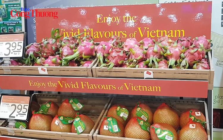 Hàng Việt lan tỏa trên đất Singapore