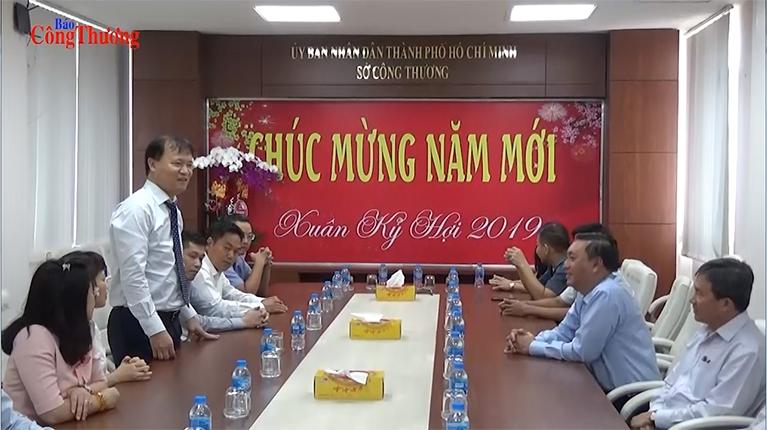 Thứ trưởng Bộ Công Thương Đỗ Thắng Hải thăm và chúc tết lãnh đạo UBND TP. Hồ Chí Minh