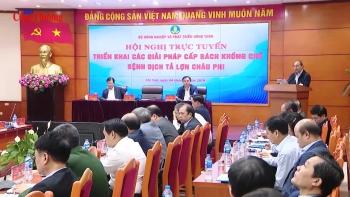 Thủ tướng Nguyễn Xuân Phúc: Chống dịch tả lợn châu Phi như chống giặc