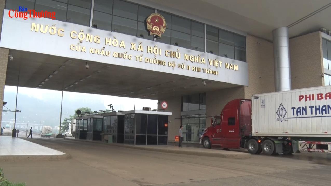 Sôi động xuất nhập khẩu chính ngạch ở Lào Cai