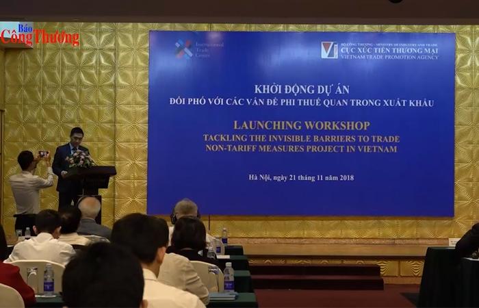 Bộ Công Thương hỗ trợ doanh nghiệp xuất khẩu vượt hàng rào phi thuế quan