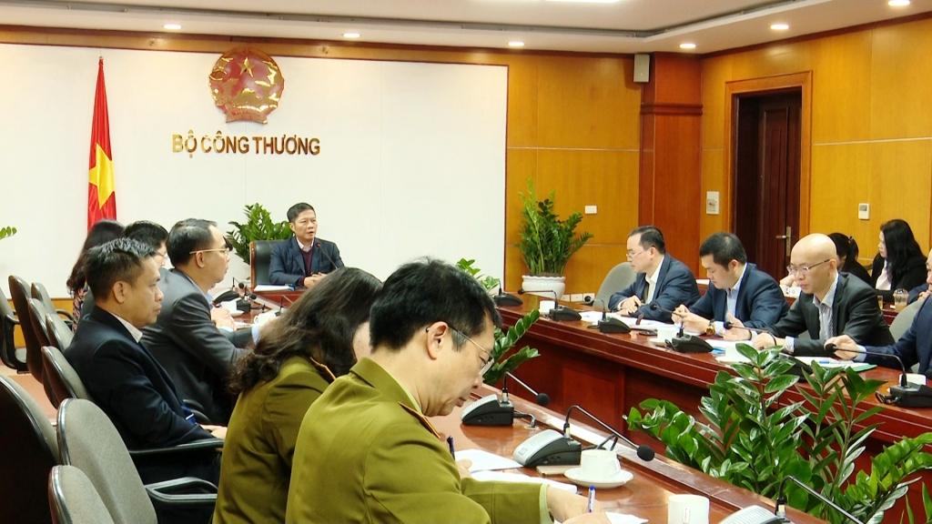Bộ Công Thương bàn giải pháp phát triển thị trường xuất khẩu trước diễn biến phức tạp của dịch cúm Corona