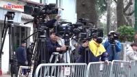Tác nghiệp báo chí tại Hội nghị thượng đỉnh Mỹ - Triều Tiên