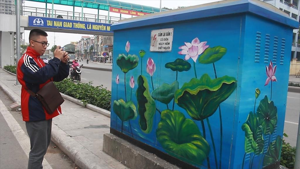 Khoác áo mới lên những tủ điện ở Quảng Ninh