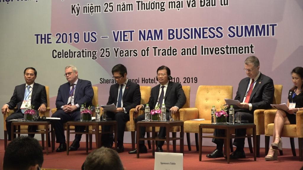 Việt Nam hướng tới TOP 10 đối tác thương mại của Hoa Kỳ