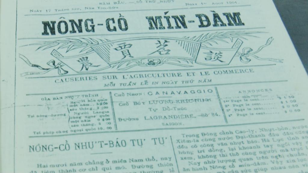 Tờ báo kinh tế đầu tiên của Việt Nam có nội dung gì?
