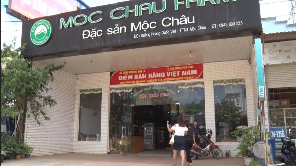 Hàng Việt chinh phục người tiêu dùng Sơn La