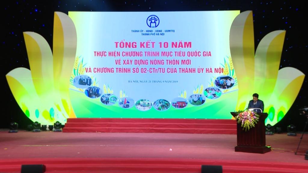 """Hà Nội: Tiếp tục phấn đấu giữ vị thế """"Lá cờ đầu"""" trong xây dựng nông thôn mới"""