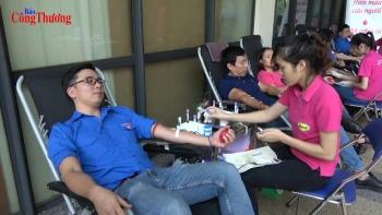 Ngày hội hiến máu tình nguyện Bộ Công Thương năm 2018