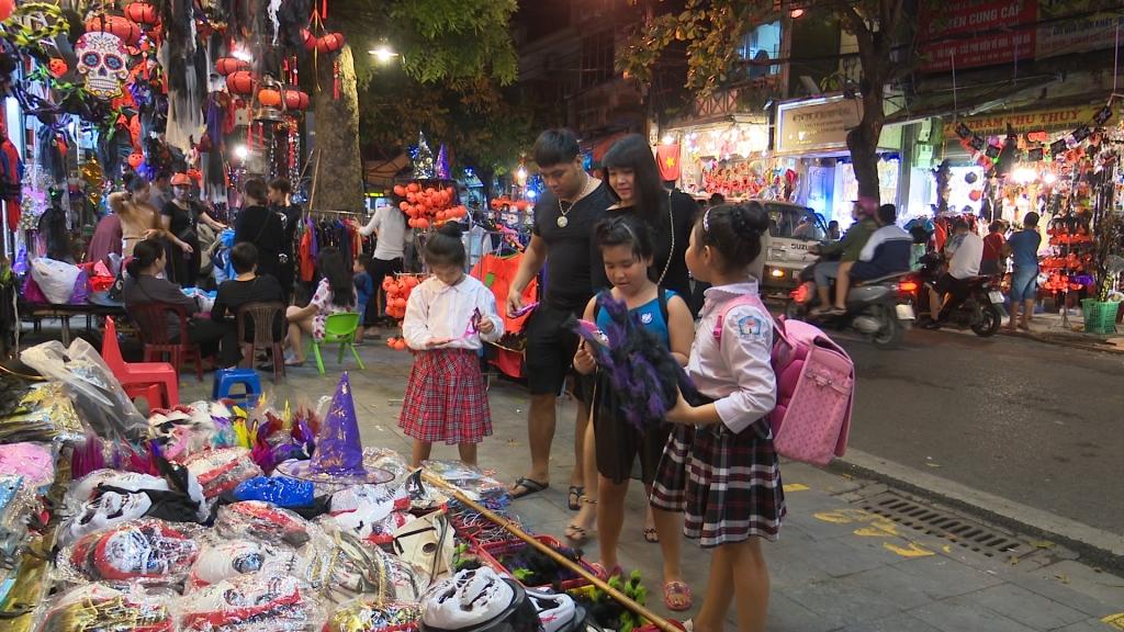 Sôi động thị trường Halloween
