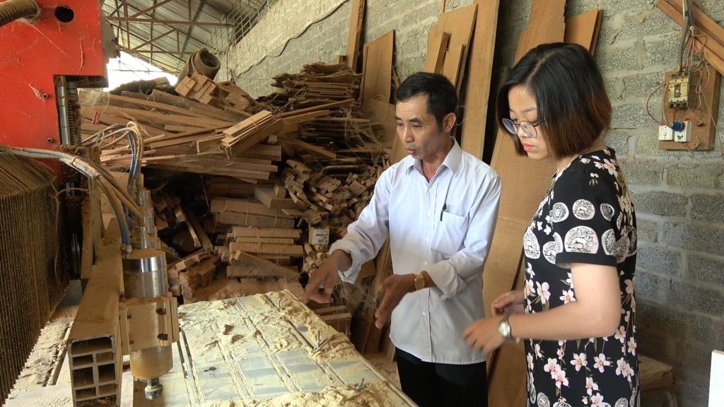Khuyến công Hòa Bình hỗ trợ cơ sở sản xuất công nghiệp nông thôn