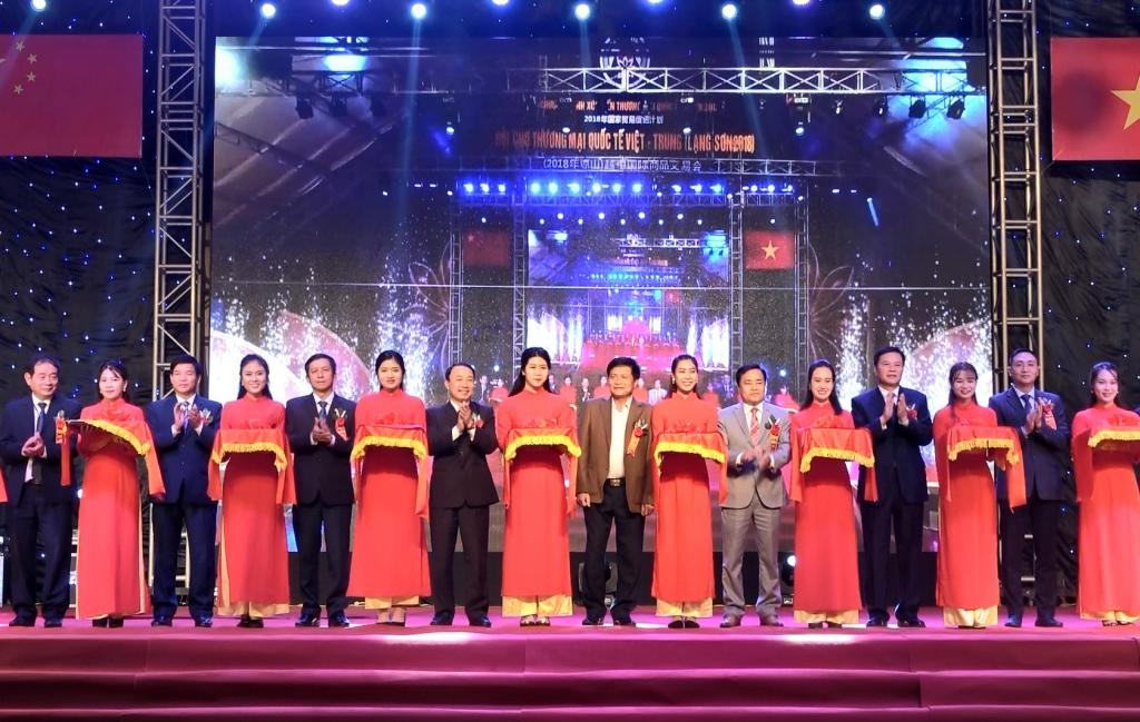 Hội chợ thương mại quốc tế biên giới Việt - Trung (Lạng Sơn năm 2018): Mở rộng giao thương, củng cố tình hữu nghị Việt - Trung