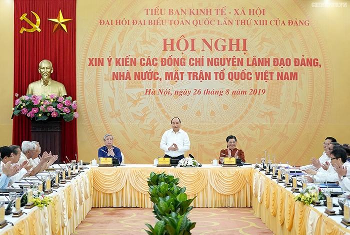 Chiến lược phát triển kinh tế xã hội:  Hiến kế từ nguyên lãnh đạo Đảng, Nhà nước, Mặt trận Tổ quốc Việt Nam
