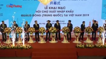 Hợp tác thương mại với Quảng Đông phát triển mạnh