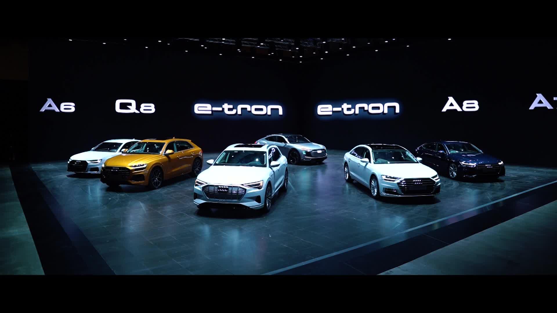 Audi tại triển lãm Brand Experience Singapore 2018
